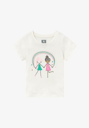 TODDLER GIRL  - Camiseta estampada - off-white/pink