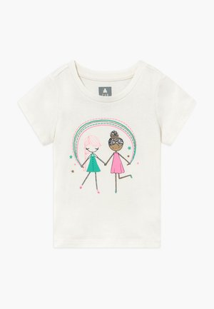 TODDLER GIRL  - T-shirt con stampa - off-white/pink
