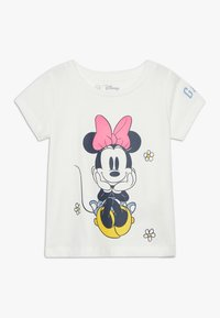 GAP - TODDLER GIRL LOGO  - T-shirt print - new off white - 0