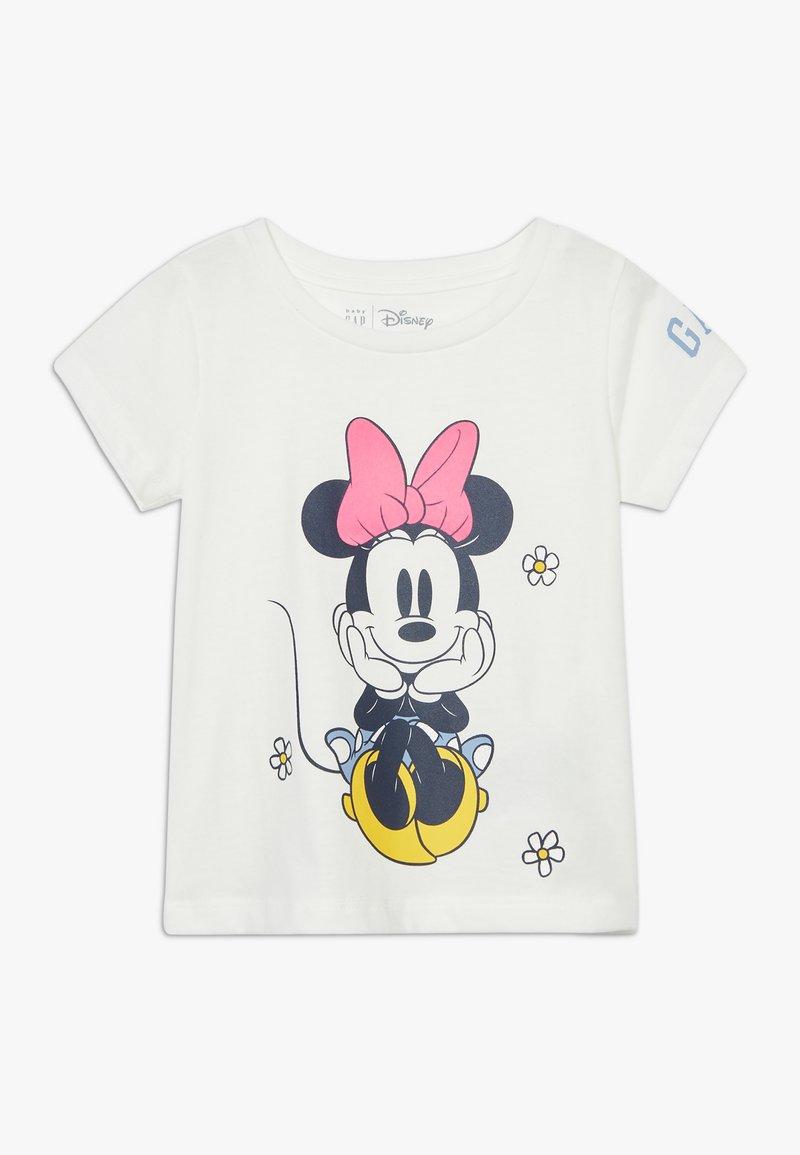 GAP - TODDLER GIRL LOGO  - T-shirt print - new off white