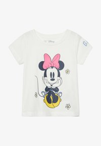 GAP - TODDLER GIRL LOGO  - T-shirt print - new off white - 2