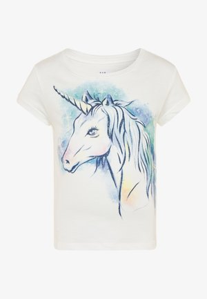 GIRL  - T-shirt imprimé - new offwhite