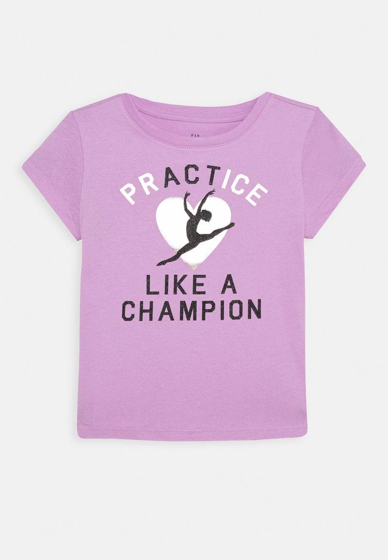 GAP - GIRLS - T-shirt imprimé - purple orchid