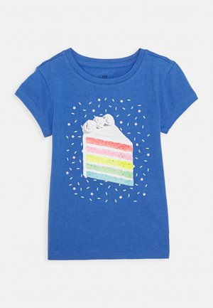 GIRLS - T-Shirt print - belle blue