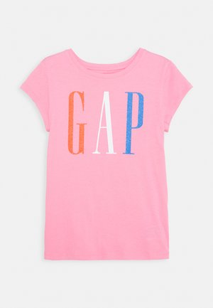 GIRLS VALUE GRAPHICS - T-Shirt print - neon impulsive pink