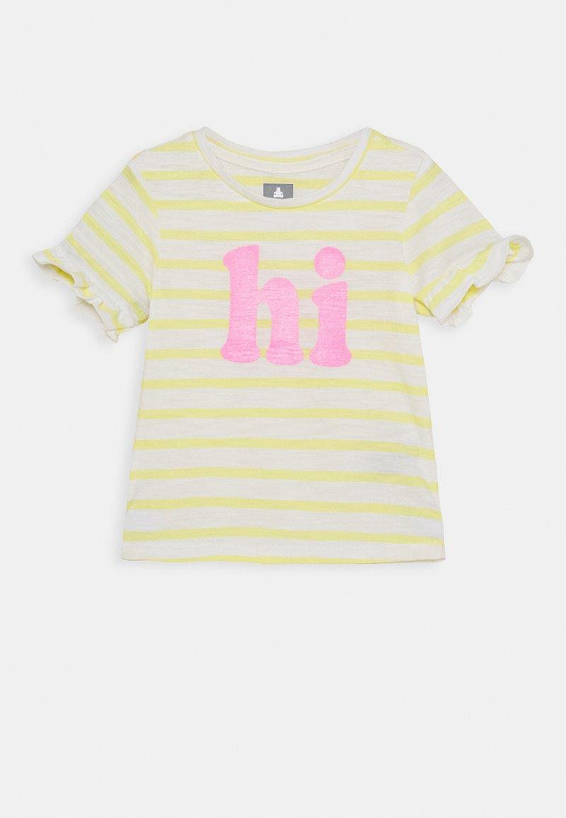 GAP - TODDLER GIRL - T-shirt print - yellow