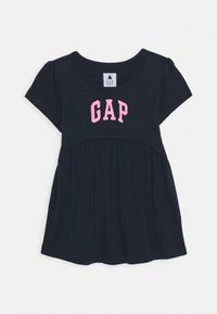 GAP - TODDLER GIRL LOGO - T-shirt con stampa - blue galaxy - 0