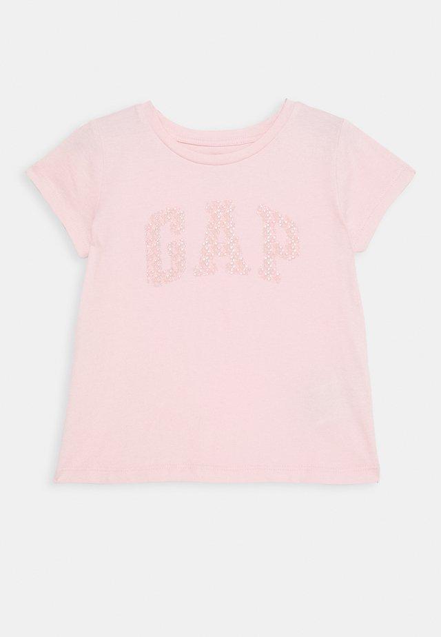TODDLER GIRL LOGO - T-Shirt print - icy pink