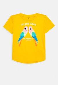 GAP - GIRL - T-shirt print - yellow sundown - 0