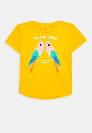 GIRL - T-shirt imprimé - yellow sundown