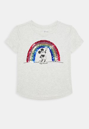 GIRL JUNE - T-shirt imprimé - grey heather