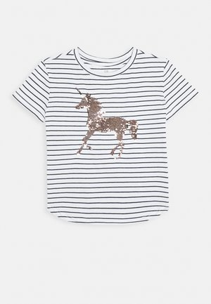 GIRL JUNE - T-shirt imprimé - navy