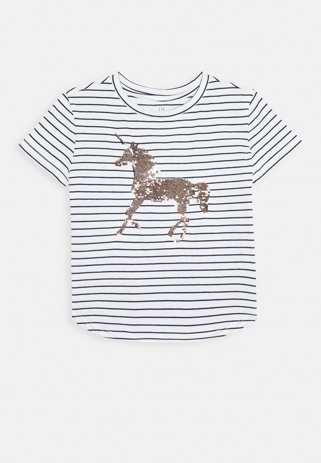 GIRL JUNE - T-shirt con stampa - navy