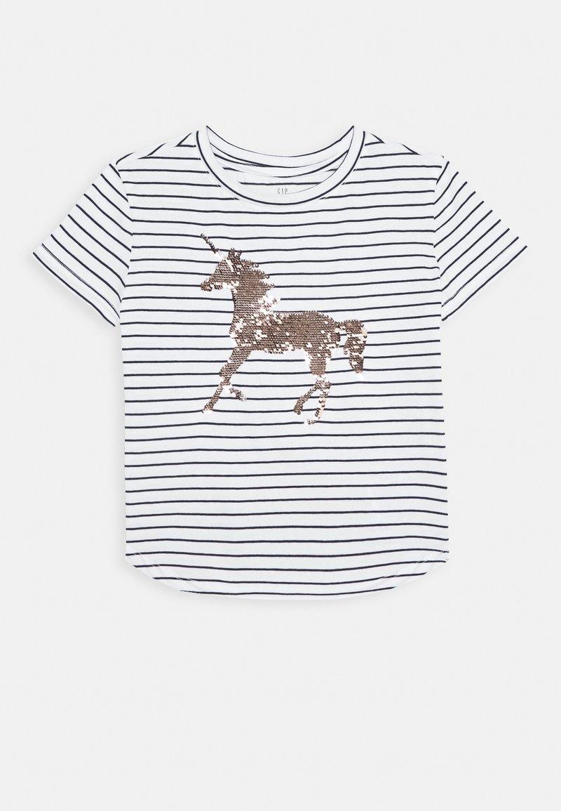 GAP - GIRL JUNE - T-shirt print - navy