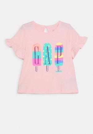 ARCH - T-shirt print - pink cameo