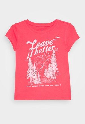 GIRLS - T-shirt print - rosehip