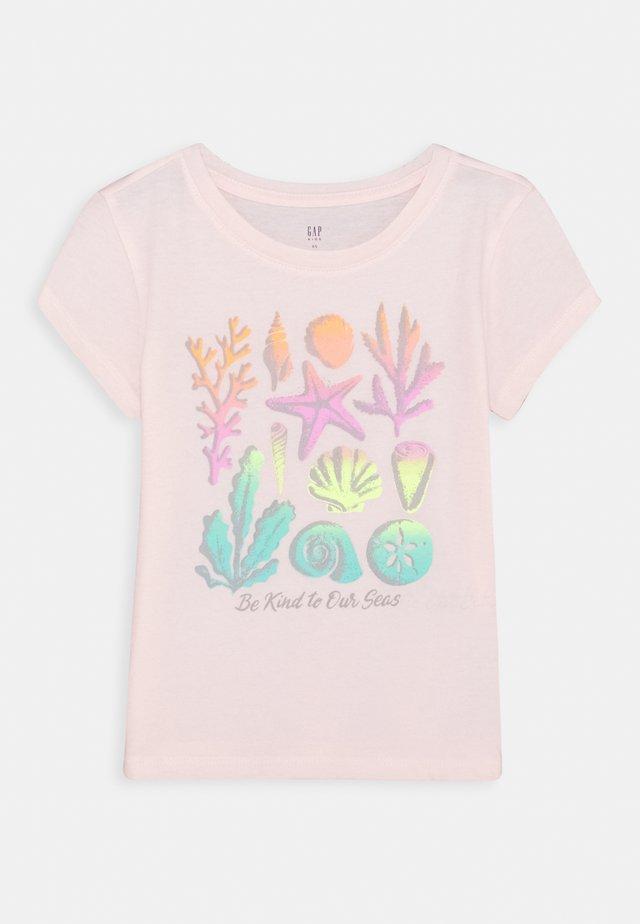 GIRLS - T-Shirt print - pink blush