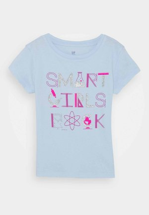 GIRLS - Print T-shirt - pure blue