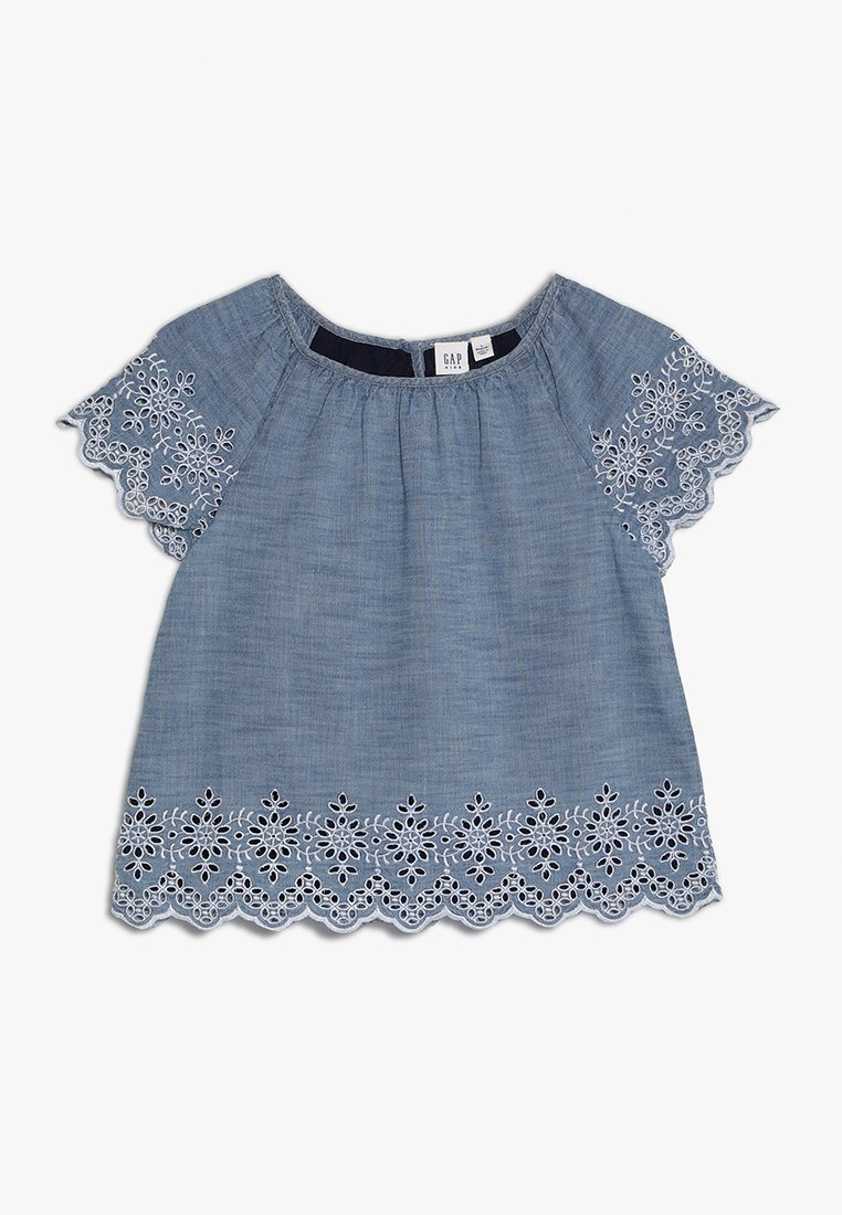 GAP - GIRLS EYELT - Tunikaer - blue chambray