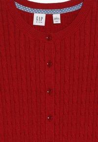 GAP - GIRLS UNI CABLE CARDI - Kardigan - ruby red - 3