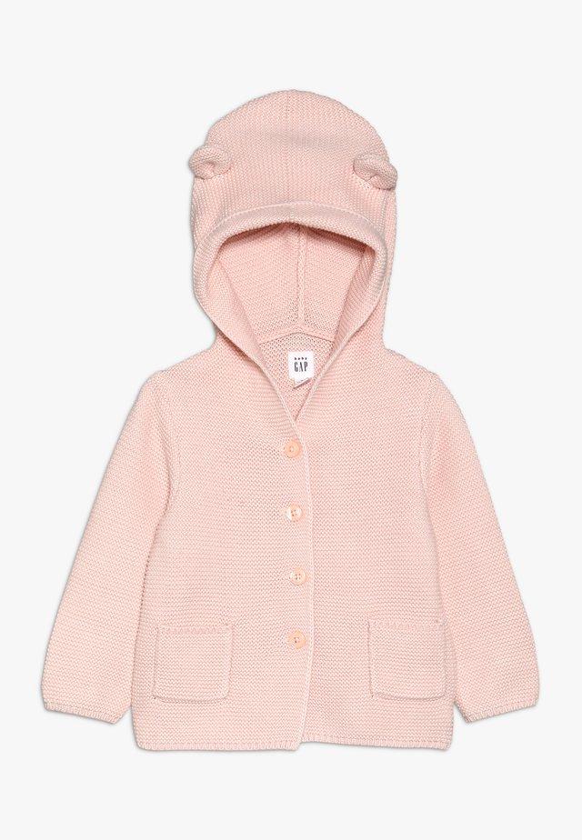 GARTER BABY - Strickjacke - milkshake pink