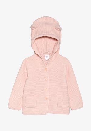 GARTER BABY - Kardigan - milkshake pink