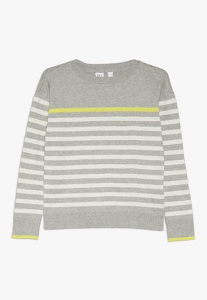 GIRL BRETON - Stickad tröja - grey heather