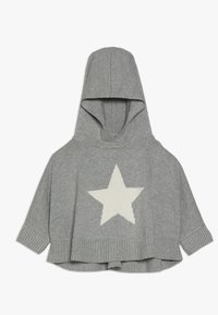 GAP - TODDLER GIRL PONCHO - Jersey con capucha - grey heather - 0