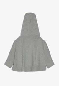 GAP - TODDLER GIRL PONCHO - Jersey con capucha - grey heather - 1