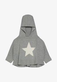 GAP - TODDLER GIRL PONCHO - Jersey con capucha - grey heather - 3