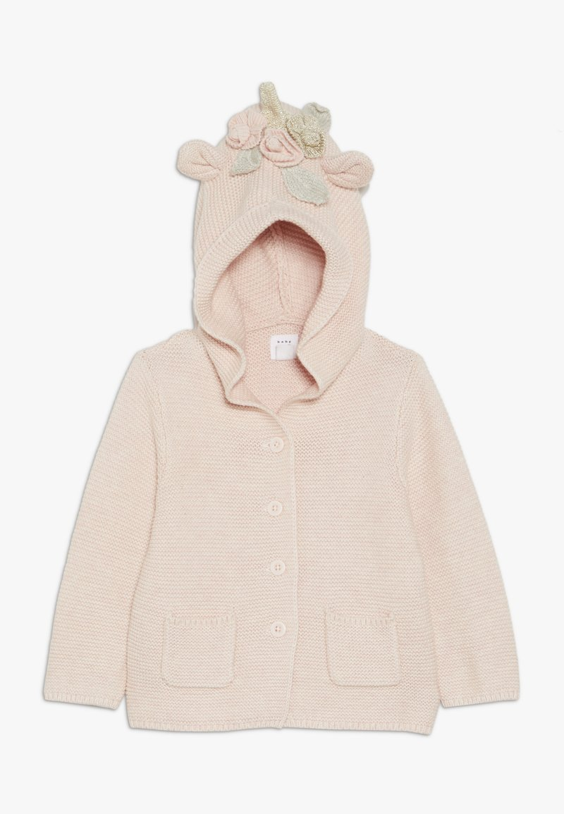 GAP - BABY - Strikjakke /Cardigans - light pink heather