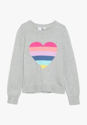 GIRL HEART  - Jumper - grey heather