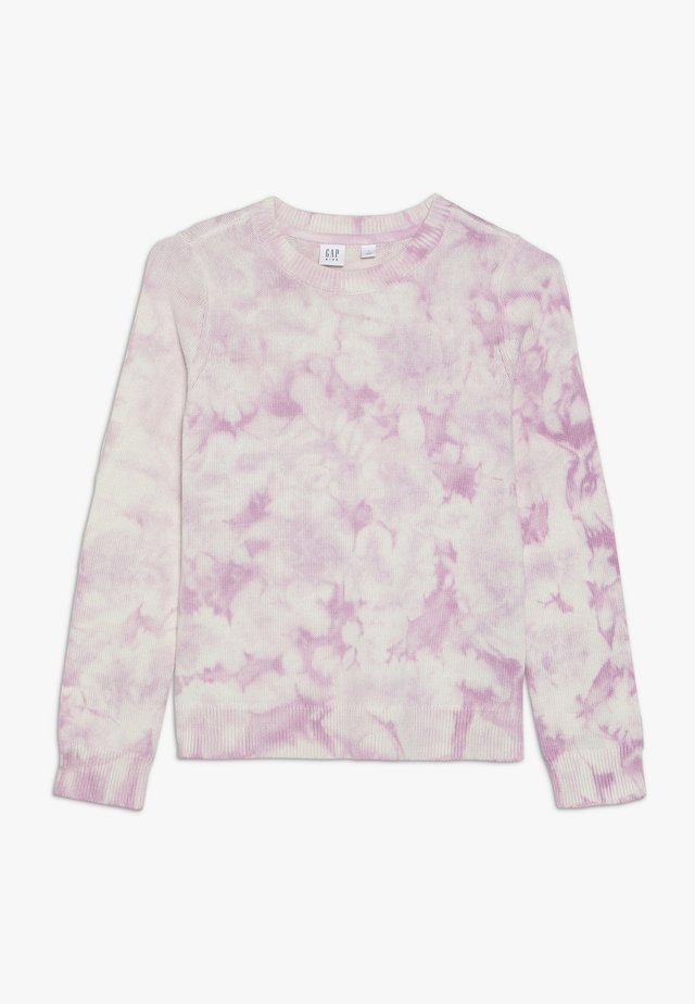 GIRL TIE DYE  - Pullover - pink