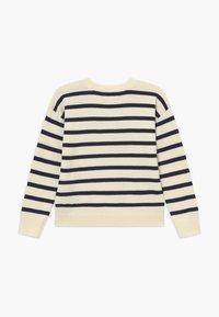 GAP - GIRL  - Jumper - navy stripe - 1