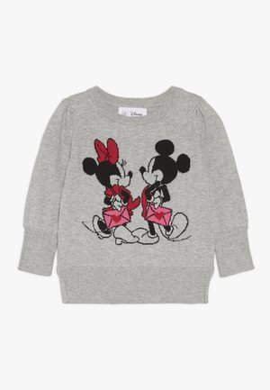 TODDLER GIRL LOVE - Maglione - grey heather
