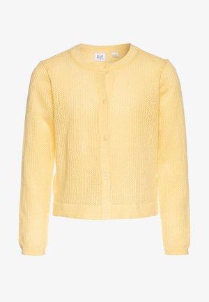 GIRL EASTER  - Strikjakke /Cardigans - havana yellow