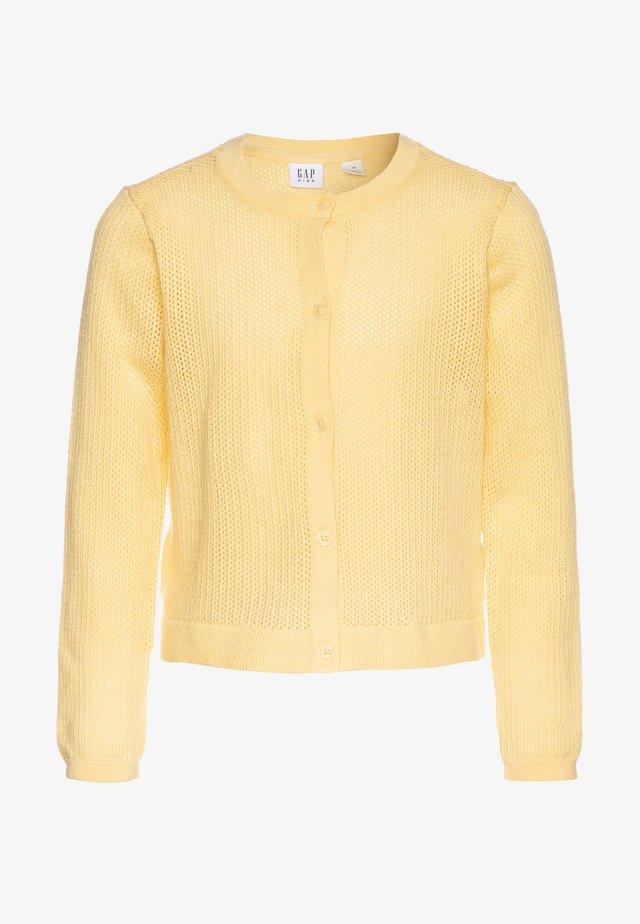 GIRL EASTER  - Strickjacke - havana yellow
