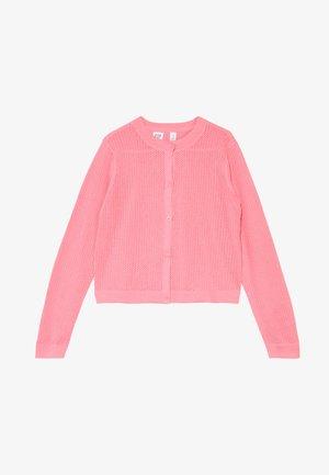 GIRL EASTER  - Strickjacke - neon impulsive pink