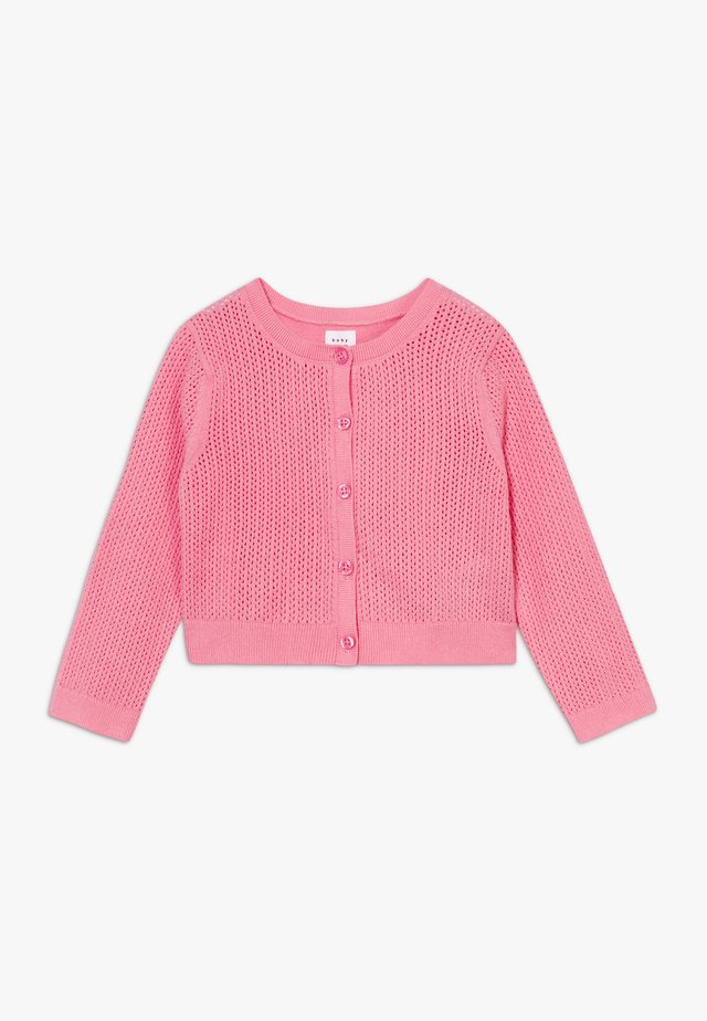 CARDI - Strickjacke - neon impulsive pink