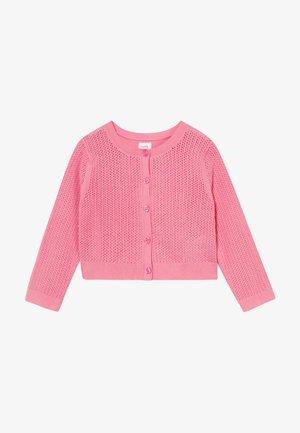 CARDI - Strikjakke /Cardigans - neon impulsive pink