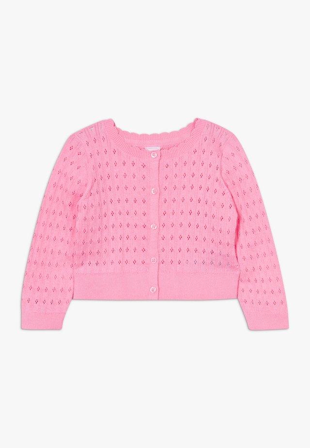 TODDLER GIRL  - Strickjacke - neon impulsive pink