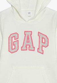 GAP - GIRLS ACTIVE LOGO HOOD - Hoodie - new off white - 4