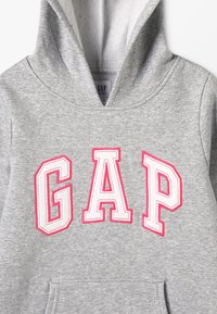 GAP - GIRLS ACTIVE LOGO HOOD - Jersey con capucha - heather grey - 4