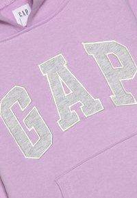 GAP - GIRLS ACTIVE LOGO HOOD - Hoodie - lavender - 4