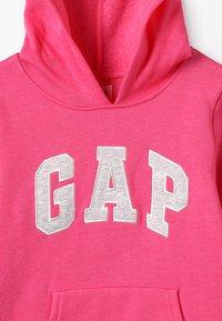 GAP - GIRLS ACTIVE LOGO HOOD - Hoodie - pink - 4