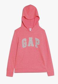 GAP - GIRLS ACTIVE LOGO HOOD - Hoodie - neon light pink - 0