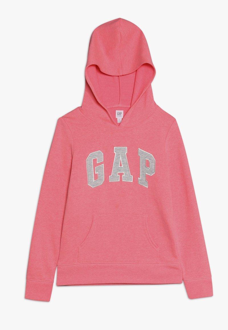 GAP - GIRLS ACTIVE LOGO HOOD - Hoodie - neon light pink
