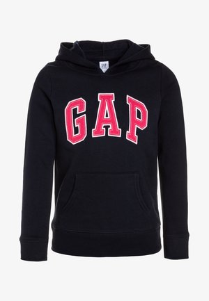 GIRLS ACTIVE LOGO HOOD - Hoodie - blue galaxy