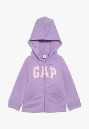 TODDLER GIRL LOGO - Zip-up hoodie - purple
