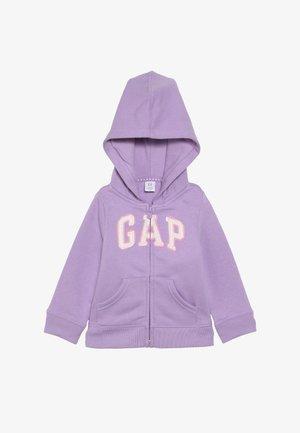 TODDLER GIRL LOGO - Bluza rozpinana - purple